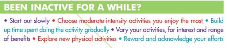 Smart Tips - After being inactive